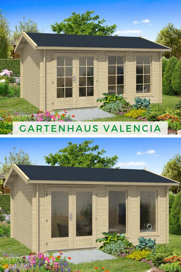 Gartenhaus Holz Satteldach