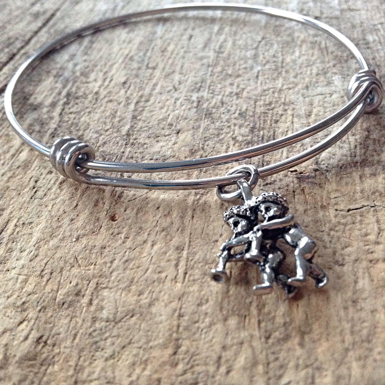 Gemini charm bracelet gemini sign zodiac jewelry star sign