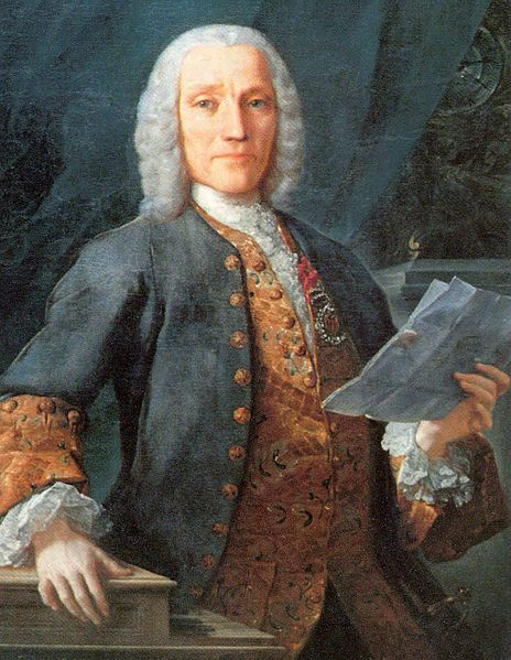 Domenico Scarlatti at 53, sometimes called The Father of Modern