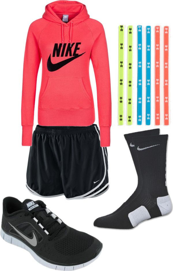 Id add Nike headbands though... This sweatshirt is the bomb! Love the color and love the style!