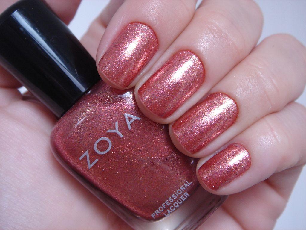 Zoya Tiffany nail polish -- Zoya is toluene, camphor, formaldehyde ...