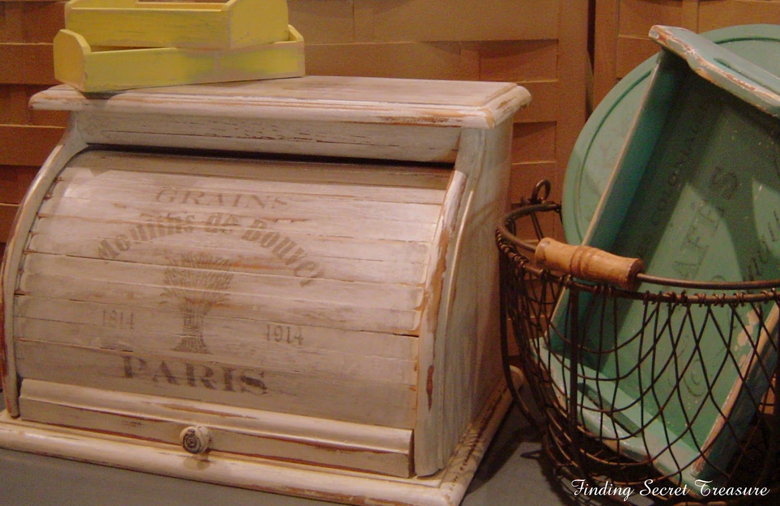 Finding Secret Treasure: Up-Cycled Bread Box