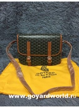 b2f21b9be3c5 Goyard Sac Belvedere Messenger Bag Tan
