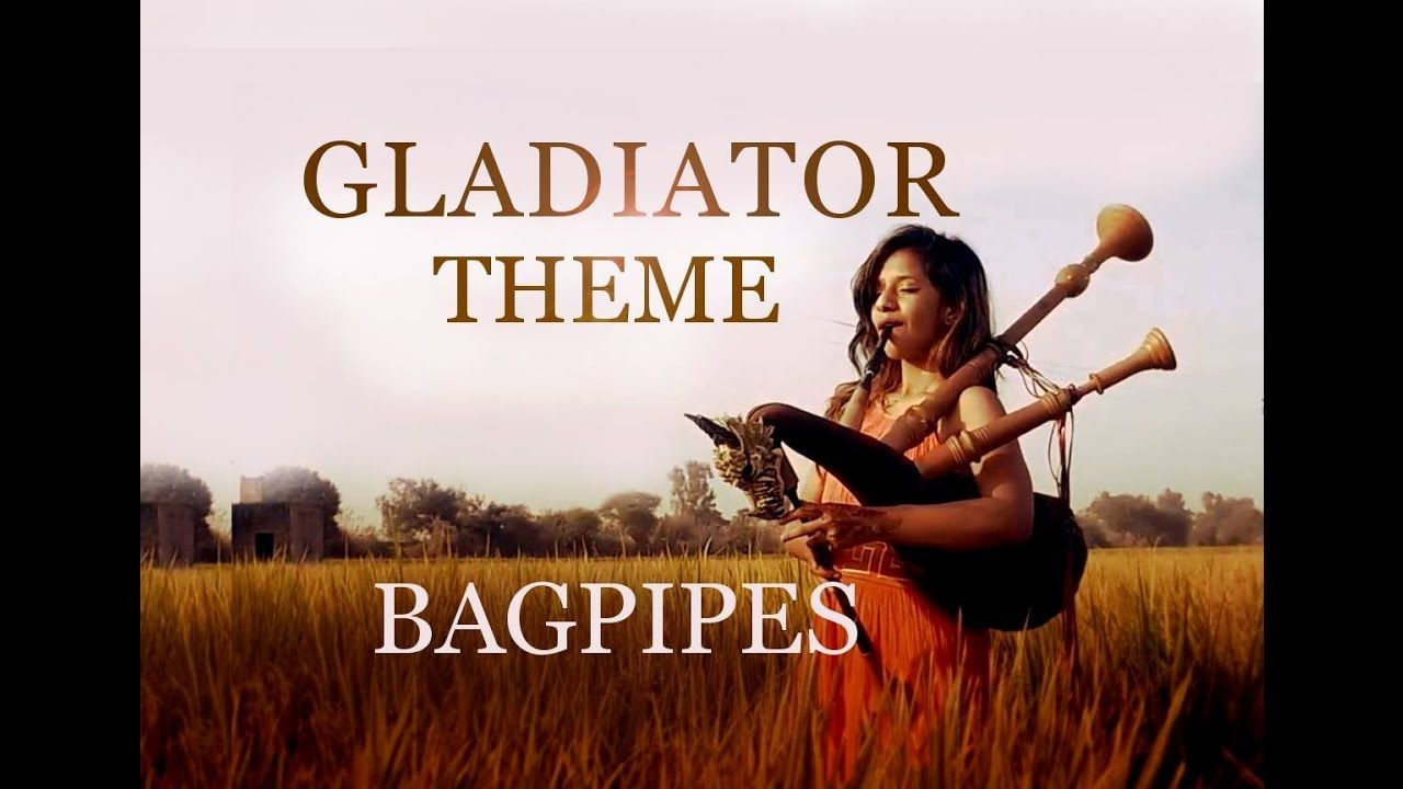 Now we are free bagpipe cover gladiator theme the