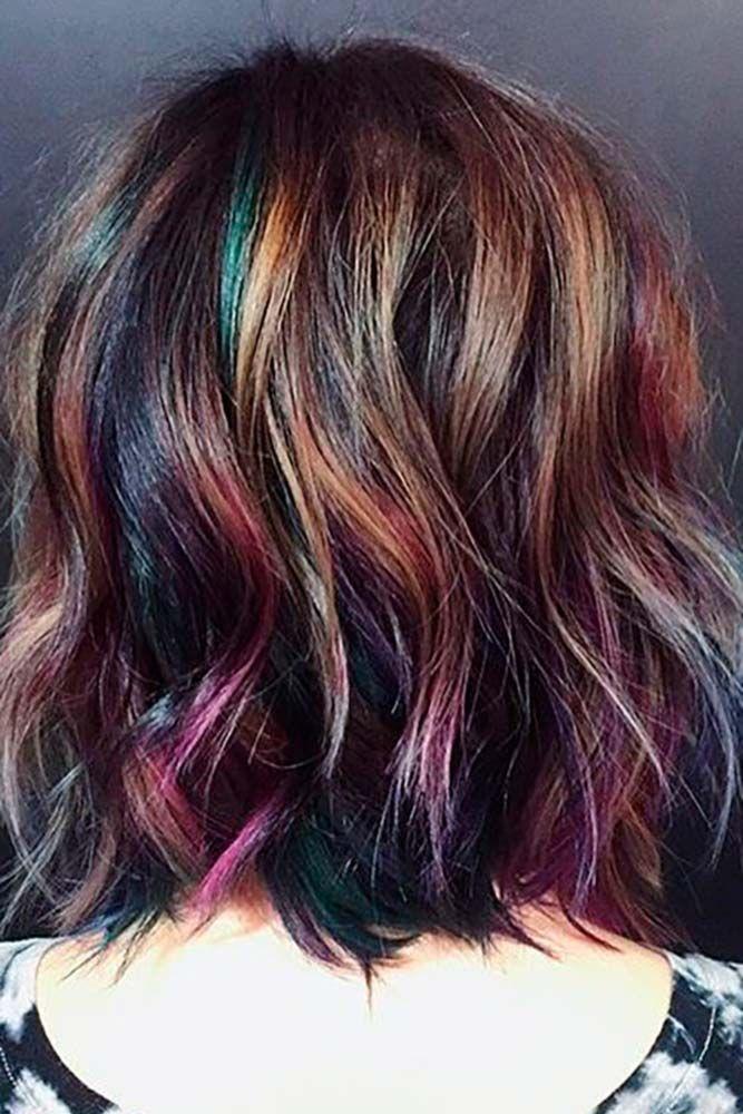 40 Fabulous Rainbow Hair Color Ideas Hair And Makeup Pinterest