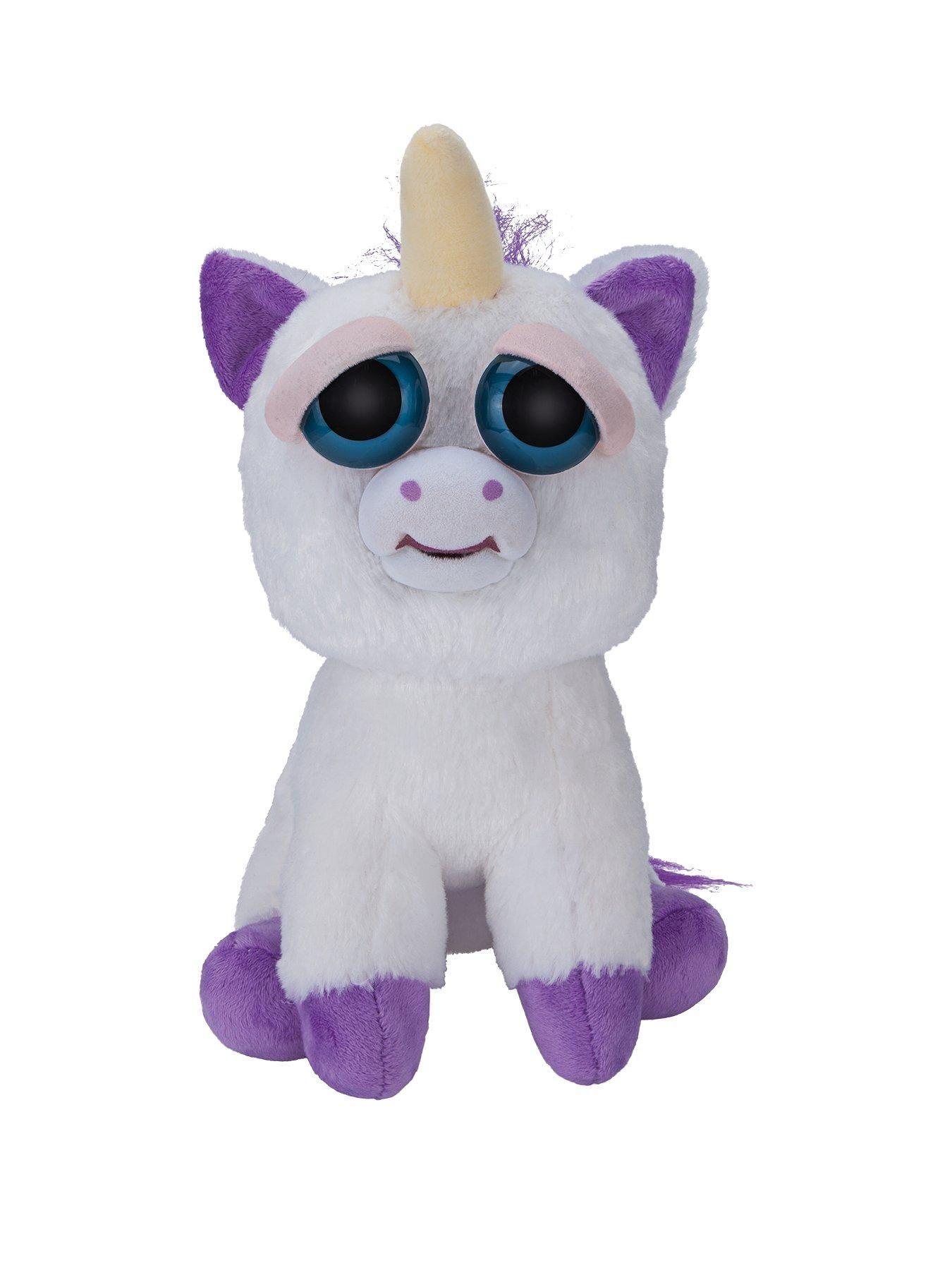 Feisty Pets Feisty Pets Feature Plush Glenda Glitterpoop Unicorn