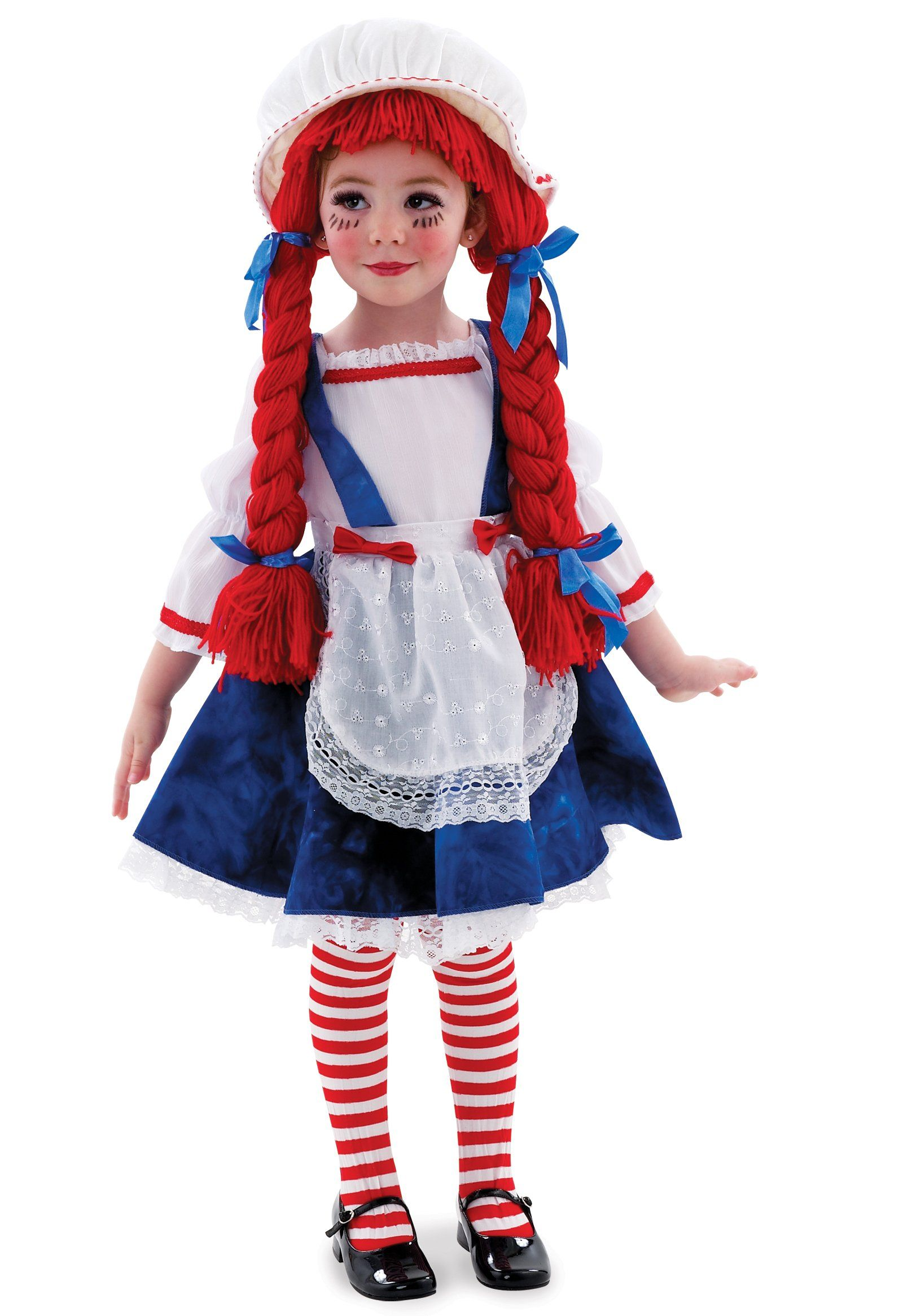 yarn babies rag doll girl toddler child costume - How To Make A Doll Costume For Halloween
