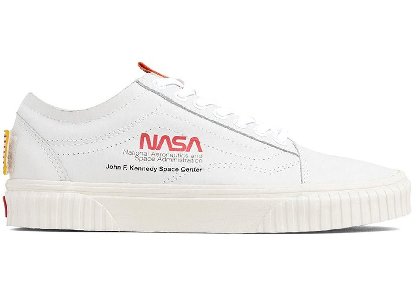 d92ff258168f Check out the Vans Old Skool NASA Space Voyager True White available on  StockX