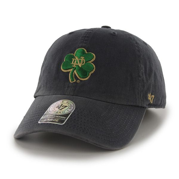 b455ce0ee3ef9 Notre Dame Fighting Irish Franchise Navy Hat Navy 47 Brand