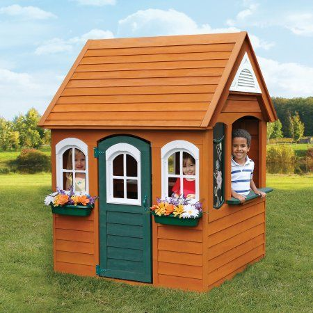 Free 2 Day Shipping Buy Kidkraft Bancroft Wooden Playhouse At