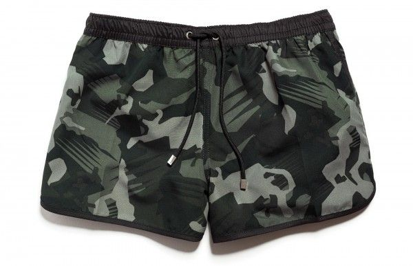 66ddb5ffe3 Zara Camouflage swim trunks $35.90 | Swimwear | Swimwear, Swim ...