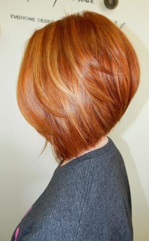 Transformation Proper Copper Kupferrote Haare Einfache