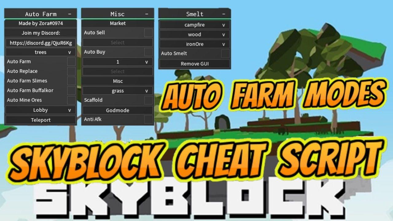Skyblock Cheat Script Autofarm Autokill Slime And Buffalkor In