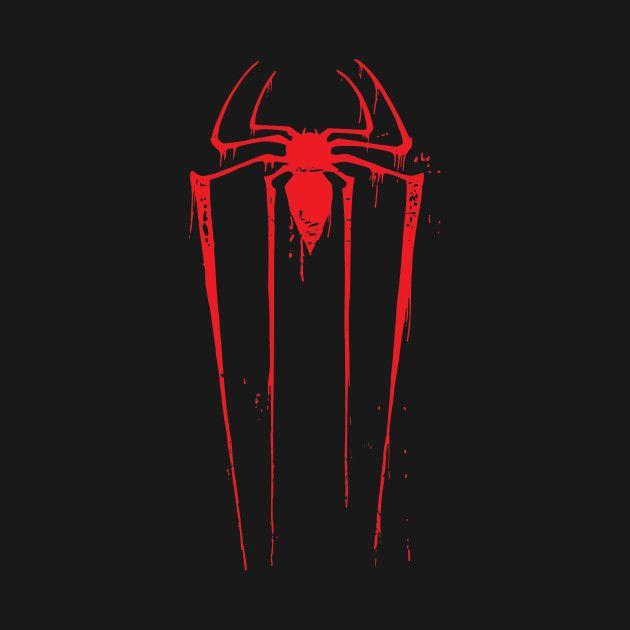 Awesome 'vintage+Spiderman+Logo' design on TeePublic ...