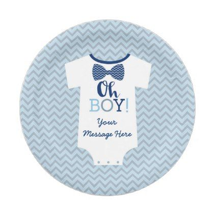 Bow Tie Little Man Baby Shower Paper Plate - baby shower ideas party babies newborn gifts  sc 1 st  Pinterest & Bow Tie Little Man Baby Shower Paper Plate - baby shower ideas party ...