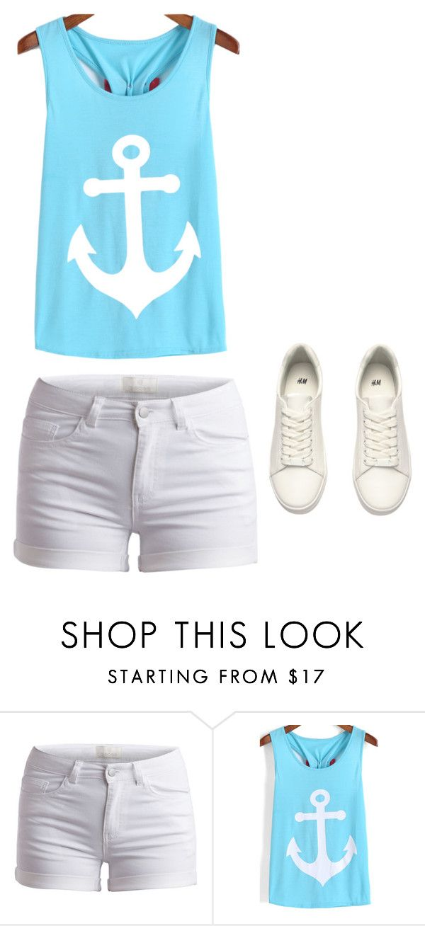 """""""Untitled #94"""" by aminamuratovic3 ❤ liked on Polyvore featuring Pieces, H&M, women's clothing, women, female, woman, misses and juniors"""