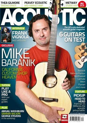 Acoustic The Uk S Only Acoustic Guitar Magazine Acoustic Guitar Magazine Guitar Magazine Acoustic