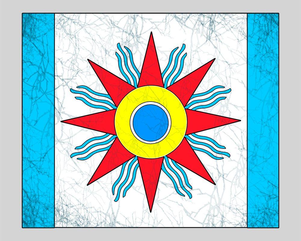 Chaldean Flag Didn T Know We Had A Flag Flag Chicago Cubs Logo Art