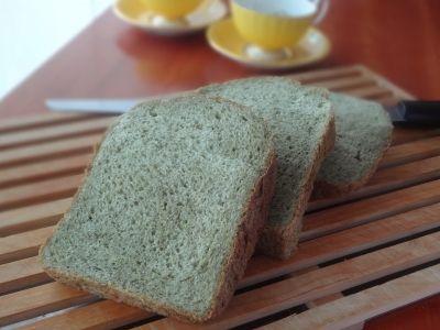 ホームベーカリーでほうれん草たっぷり食パン