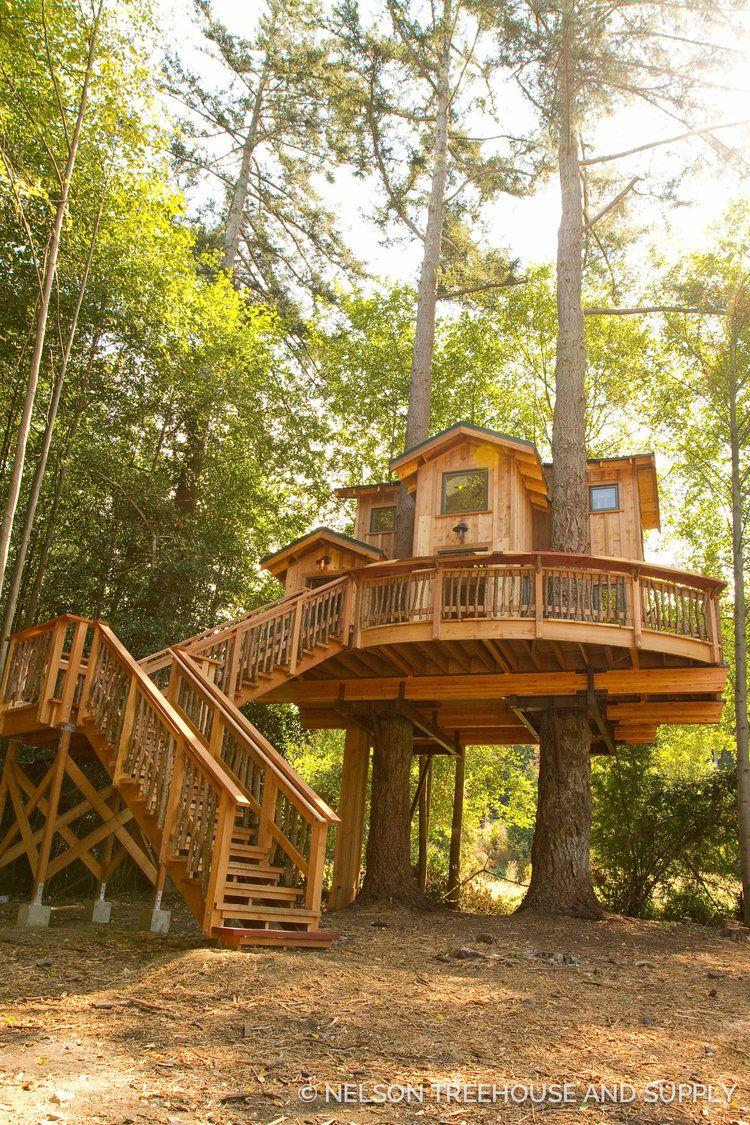 orcas_treehouse_shane_14   tree house   Pinterest   Baumhaus, Balkon ...