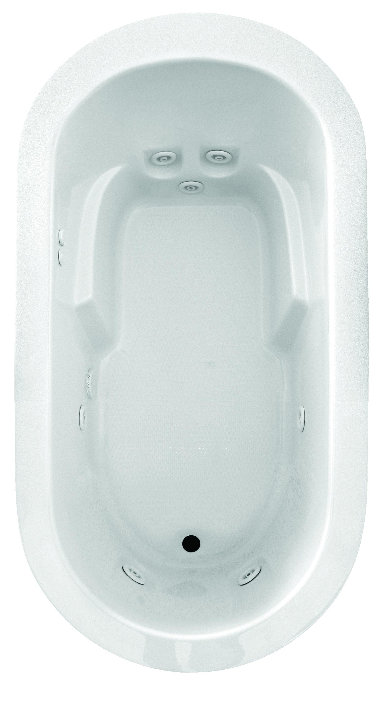 Jetta Designer whirlpool bathtub, J30X Malibu model. Visit www ...