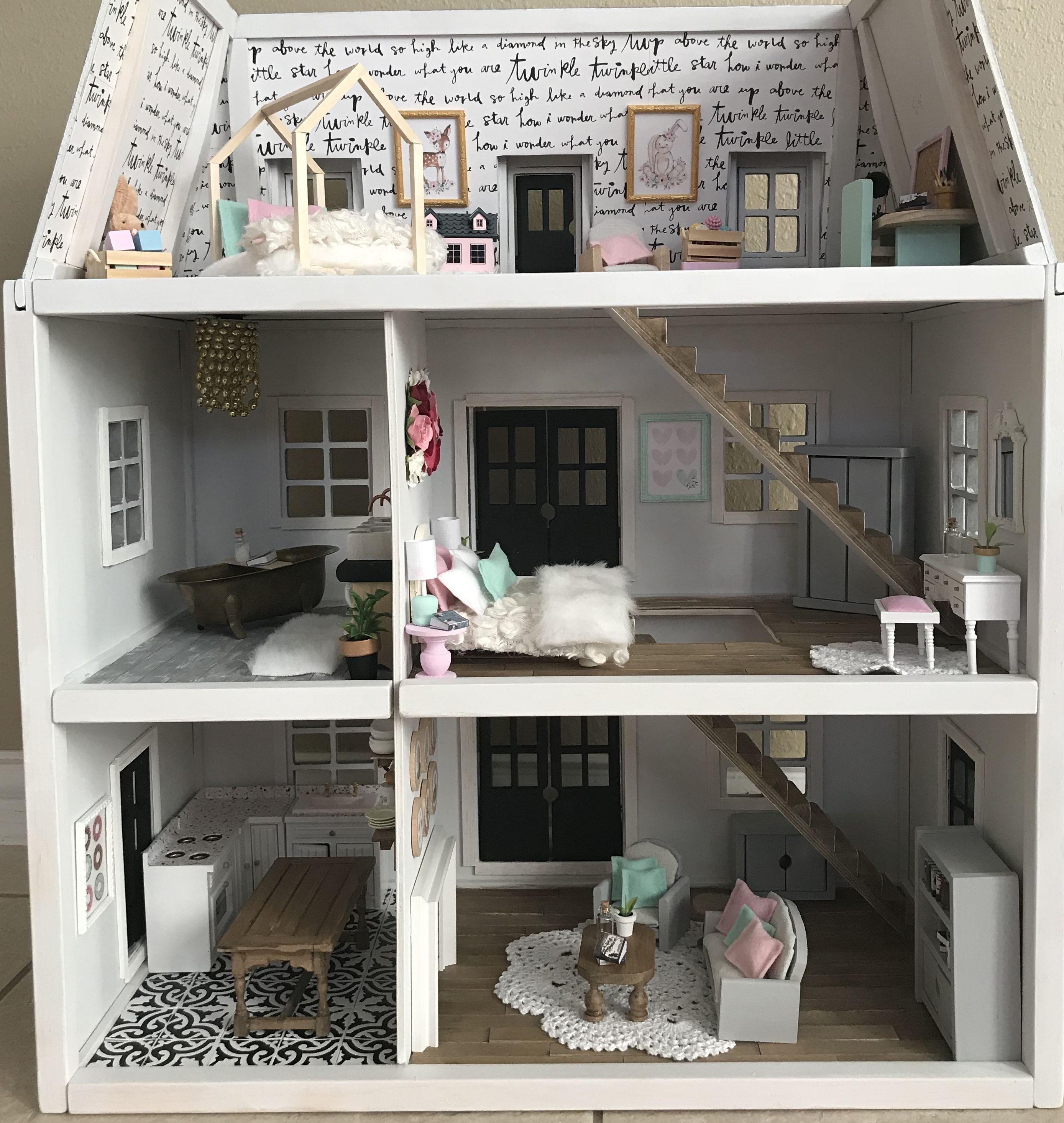 Dollhouse, Melissa And Doug Dollhouse, Dollhouse Diy