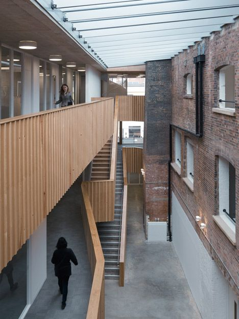 Social Justice Centre In Vauxhall By Architecture 00 Renovation Architecture London Buildings Factory Architecture