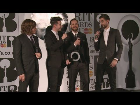 Brits 2014 Winners Room: Bastille joke about retiring after winning British breakthrough act - YouTube