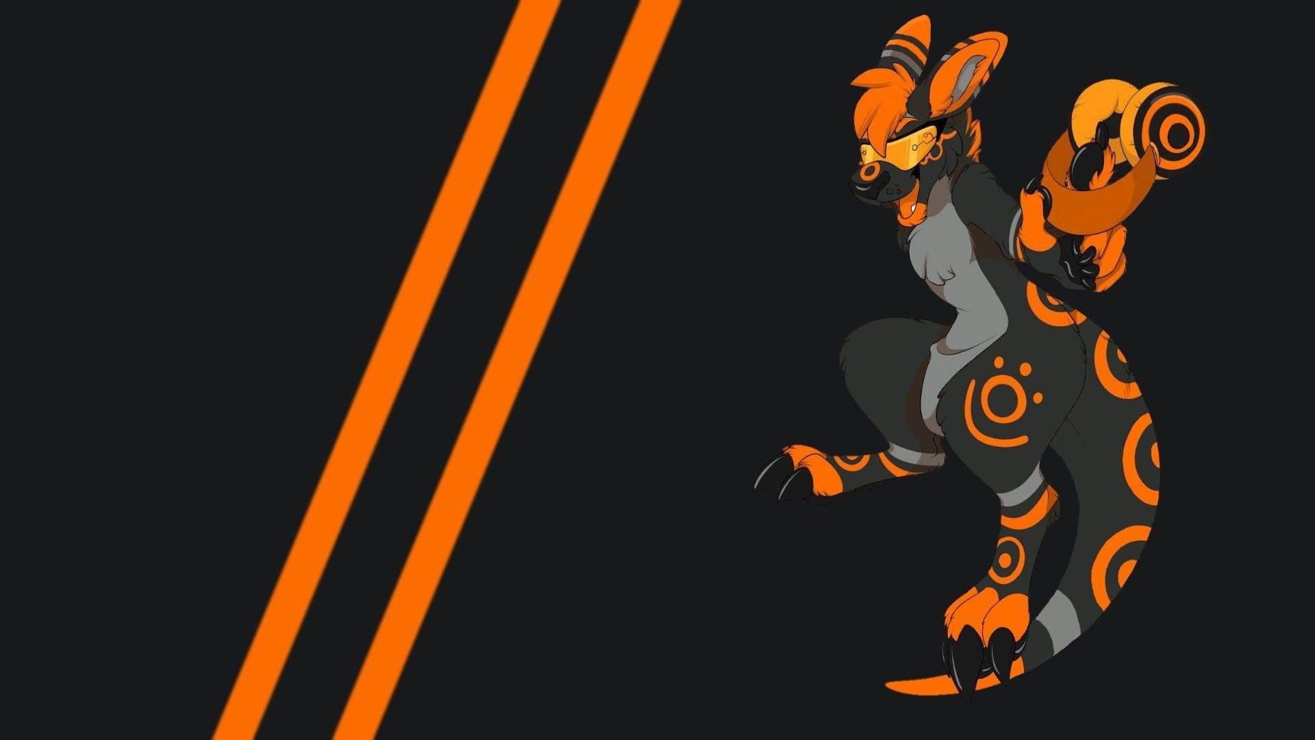 1920x1080 Anthro, Furry Wallpaper HD Character design in