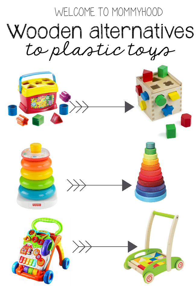 Wooden Alternatives To Plastic Toys For Baby Montessori