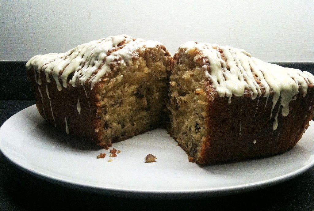 Maple Pecan Loaf Cake