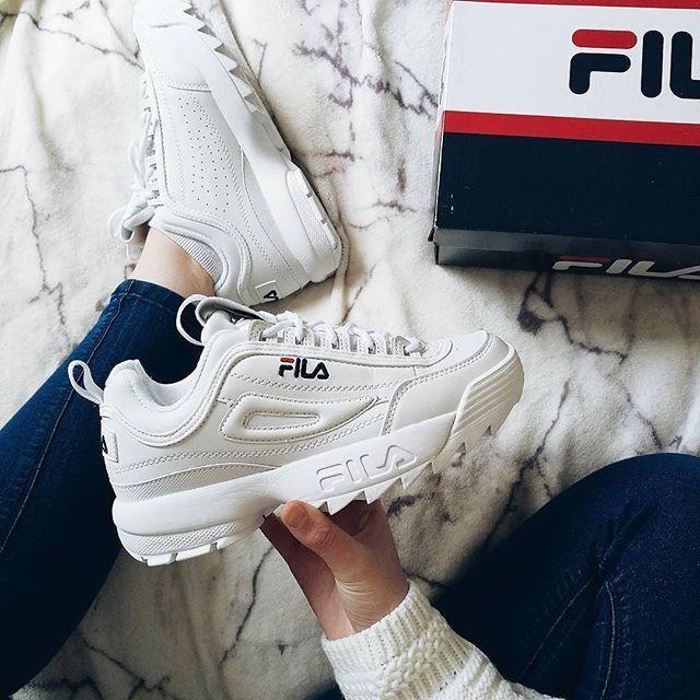 FILA Womens chaussures FILA femme Fashion Sneakers Running