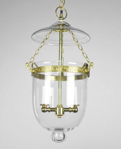 Bell jar chandelier pendant lantern brass glass old colonial gold bell jar chandelier pendant lantern brass glass old colonial gold antique style aloadofball Images
