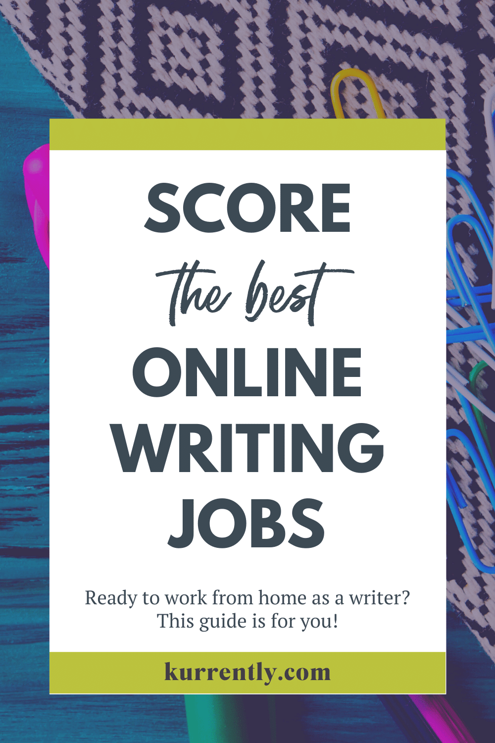 Score The Best Freelance And Remote Writing Jobs Online Online Writing Jobs Writing Jobs Online Jobs