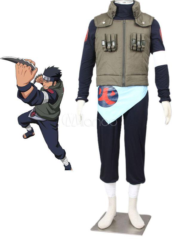 Naruto Sarutobi Asuma Halloween Cosplay Costume - Milanoo.com