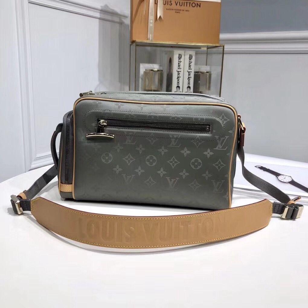 ba999a922505 Louis Vuitton Monogram Titanium Canvas Camera Bag M43884 2018 ...