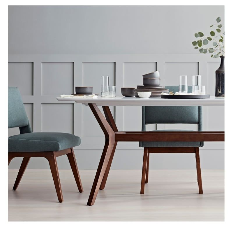 Expensive Looking Entertaining Essentials From Target Modern Dining Table Mid Century Dining Chairs Midcentury Modern Dining Chairs