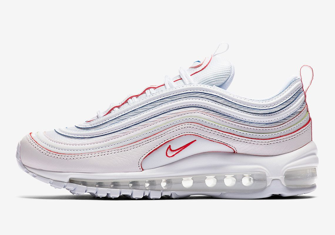 buy popular 3abfd 6e45d ... promo code for nike air max 97 rainbow tea berry bordeaux tea berry  metallic silver aq4137