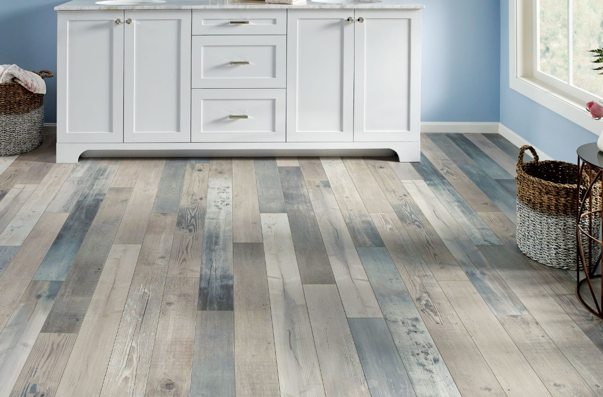 Pryzm Sky Blue in 2020 Luxury vinyl tile, Diy wood
