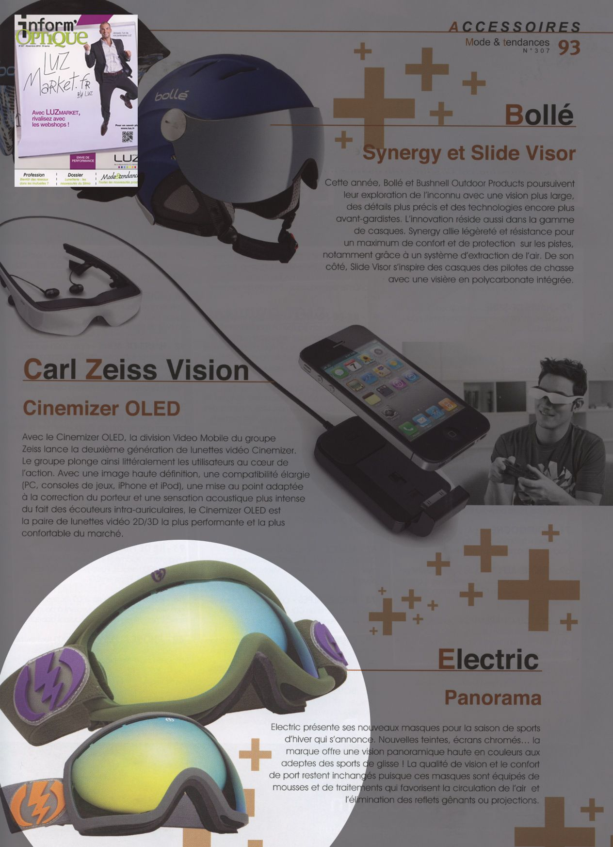 Inform'Optique - French Magazine - EG5S, EG2.5 - Nov12