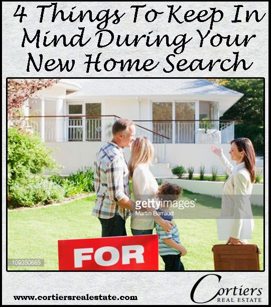 Cortiers Blog: Things to Keep in Mind When Looking for a Home, There are many factors to keep in mind when you start your home search. Some may be cosmetic and stylistic, but it is also important to consider the smaller details that may make a difference in the house you choose to buy. www.cortiersrealestate.com   Cortiers Real Estate   College Station Real Estate