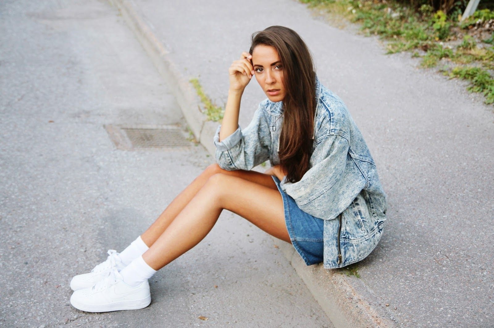 new product 25633 c11ad girls wearing nike air force 1 - Google Search