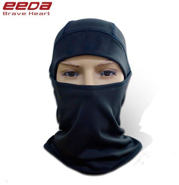 Sports Face Masks Bicyle Cycling Motorcycle Winter Sports Ski Snowboard Hood Wind Stopper Face Helmet Neck Mask Headwear Thermal Fleece Black