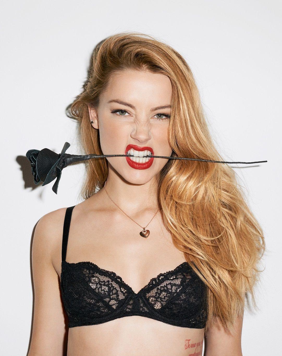 Amanda Heard Nude Pics amber heard - ideia de fotos - photography - red - lipstick