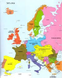 Political Map Of Europe In 1914 Google Search Europe Map