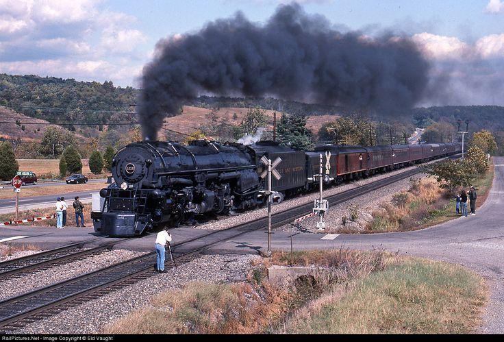 Norfolk & Western 1218 2664 at Lafayette, Virginia