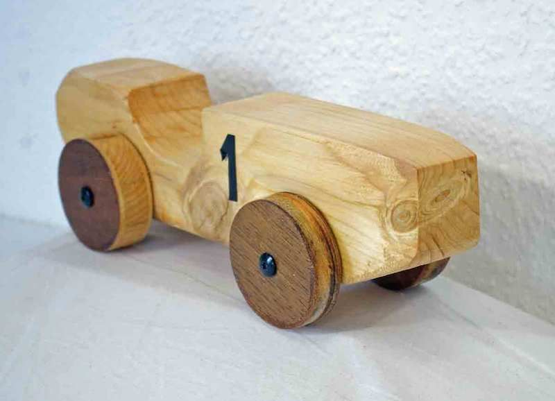 Auto Aus Holz Basteln