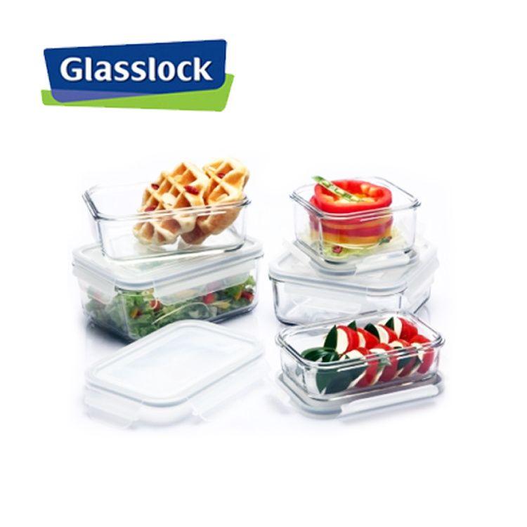 S319052GlasslockGlass lock 6 Pcs High Quality Food