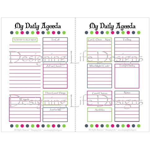 Looking For A Printable Day Planner Look No Further This  Half