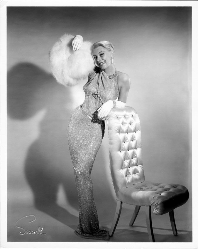 Carol Channing as a bombshell